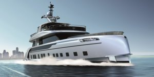 The Latest Dynamiq Superyacht X Studio F.A. Porsche and Will Debut at the Monaco Yacht Show 2017