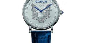 """Corum Unveils New """"American Spirit"""" Coin Watches"""