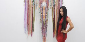 Interview: Textile Artist Anne Samat Explores the Art of Songket & Malaysian Identity With Woven Sculptures