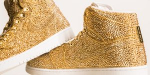 Daniel Jacob's $6,500 Made-to-Order Nike Air Jordan 1s is Made with 15,000 Swarovski Crystals