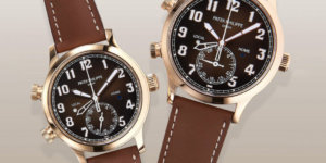 Baselworld 2018: Patek Philippe Debuts new Rose Gold 5524R Pilot Calatrava on Instagram
