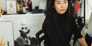 Calligraphy Artist and Illustrator Lihua Wong Draws Her Way Into the Fashion Industry