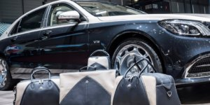 Mercedes-Maybach S650 now has a matching luggage collection