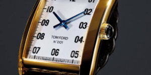 See what the first Tom Ford watch collection is all about
