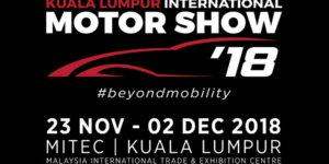 Kuala Lumpur International Motor Show 2018 is happening this November
