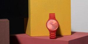 A look at Rado True Thinline Couleurs™ Le Corbusier collection