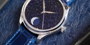 H. Moser Endeavour Perpetual Moon Concept Aventurine – A Charmingly Poetic Execution of the Moonphase complication