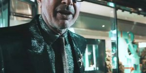 Jeff Goldblum Unleashed at The Tiffany Men's Pop-Up Shop on NYC 57th Street