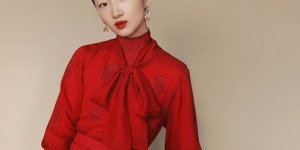 Burberry presents Chinese New Year campaign with Zhou Dongyu, He Cong and Liang Jiyuan