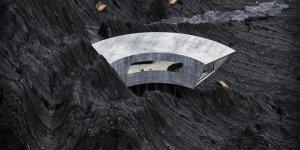 Reza Mohtashami Designs The Sinisterly Beautiful Concrete House