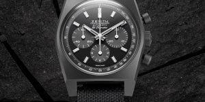 "New Zenith Chronomaster Revival ""Shadow"" bets on the brand's Modern Heritage"