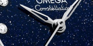Omega's new Constellation Aventurine dial recalls a dreamy star-filled sky