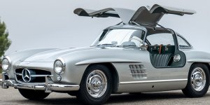 "Geared Online Presents The 1957 Mercedes-Benz 300 SL ""Gullwing"" For Auction"