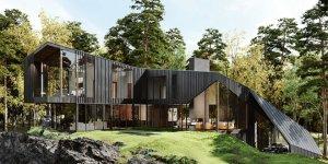Aston Martin Designs a Modernist Rural Estate Dubbed Sylvan Rock