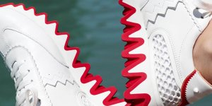 See how these boys style their Christian Louboutin Loubishark sneakers