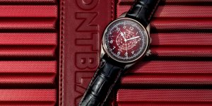 Montblanc x Sincere 1858 Split Second Chronograph Limited Edition with Red Lacquer dial