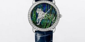 A Colourful World: Ronde Louis Cartier Enamel Filigree