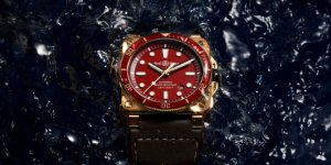 Paint the Town Red With the Imaginative Bell & Ross BR 03-92 Diver Red Bronze